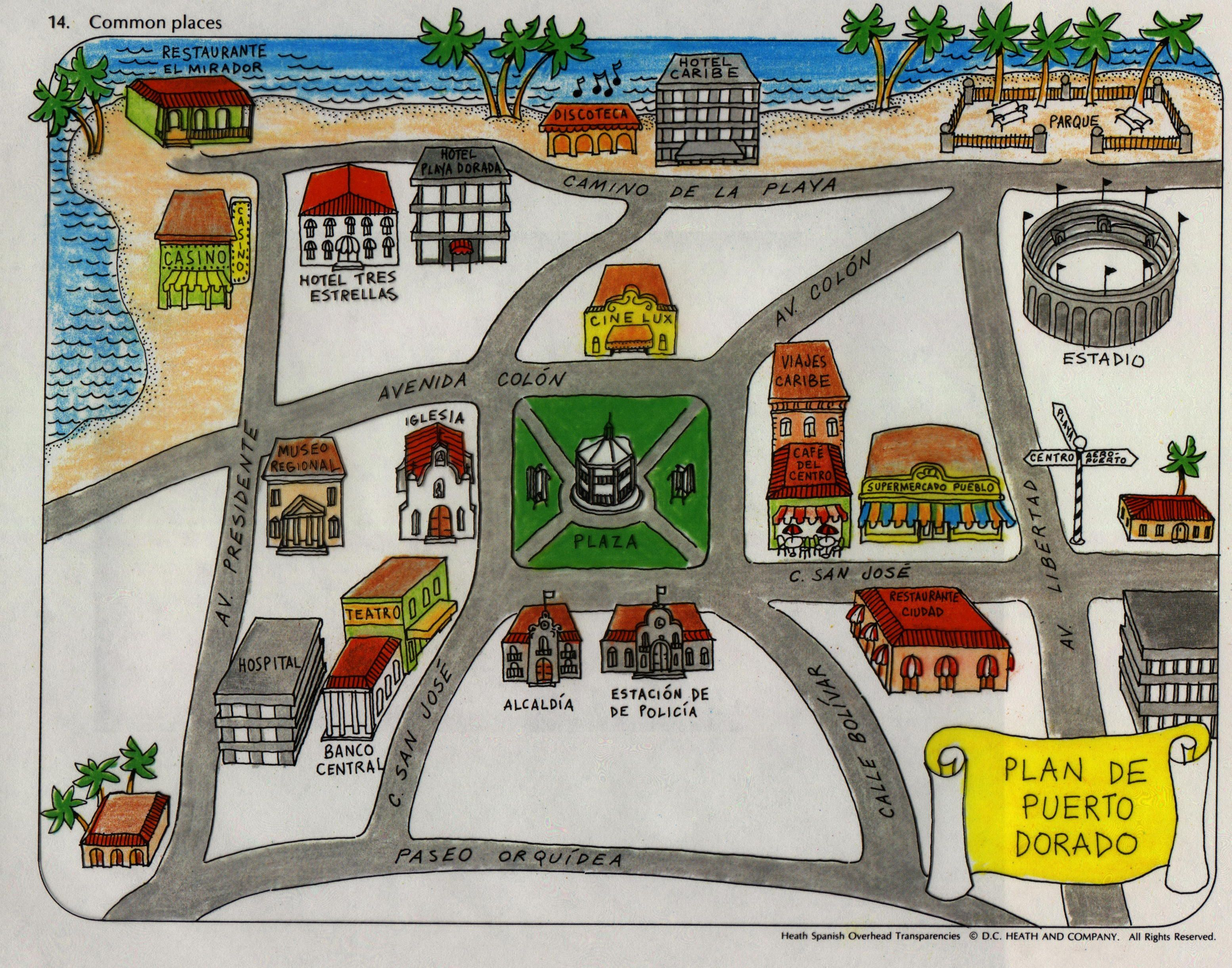 Spanish City Project Map