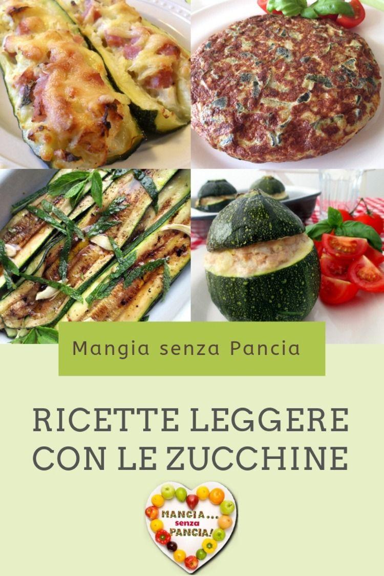 ricette di zucchine per dieta