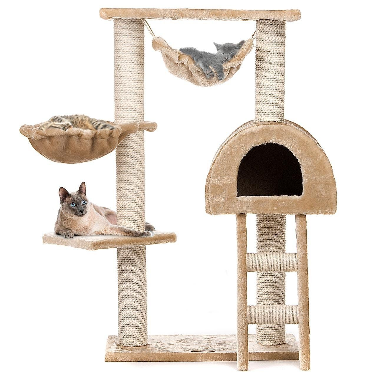 Best Cat Trees with Scratching Posts Small and Large