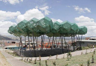 'Bosques de la Esperanza,' Sport Center, - Giancarlo Mazzanti -