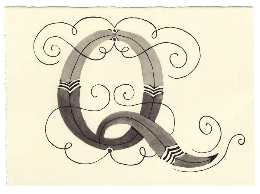 Day 146 • Q • Handwritten Letters