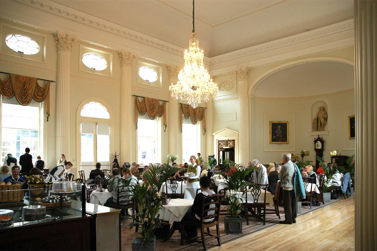 The Pump Room Bath England Jane Austen And Queen Victoria Had