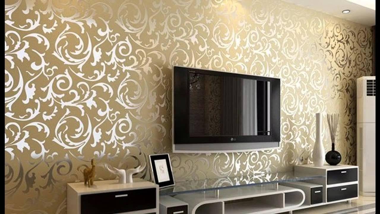 Living Room Wallpapers Designs Free Wallpaper Design For Living Room Home Design Living Room Wallpaper Wallpaper Living Room False Ceiling Living Room