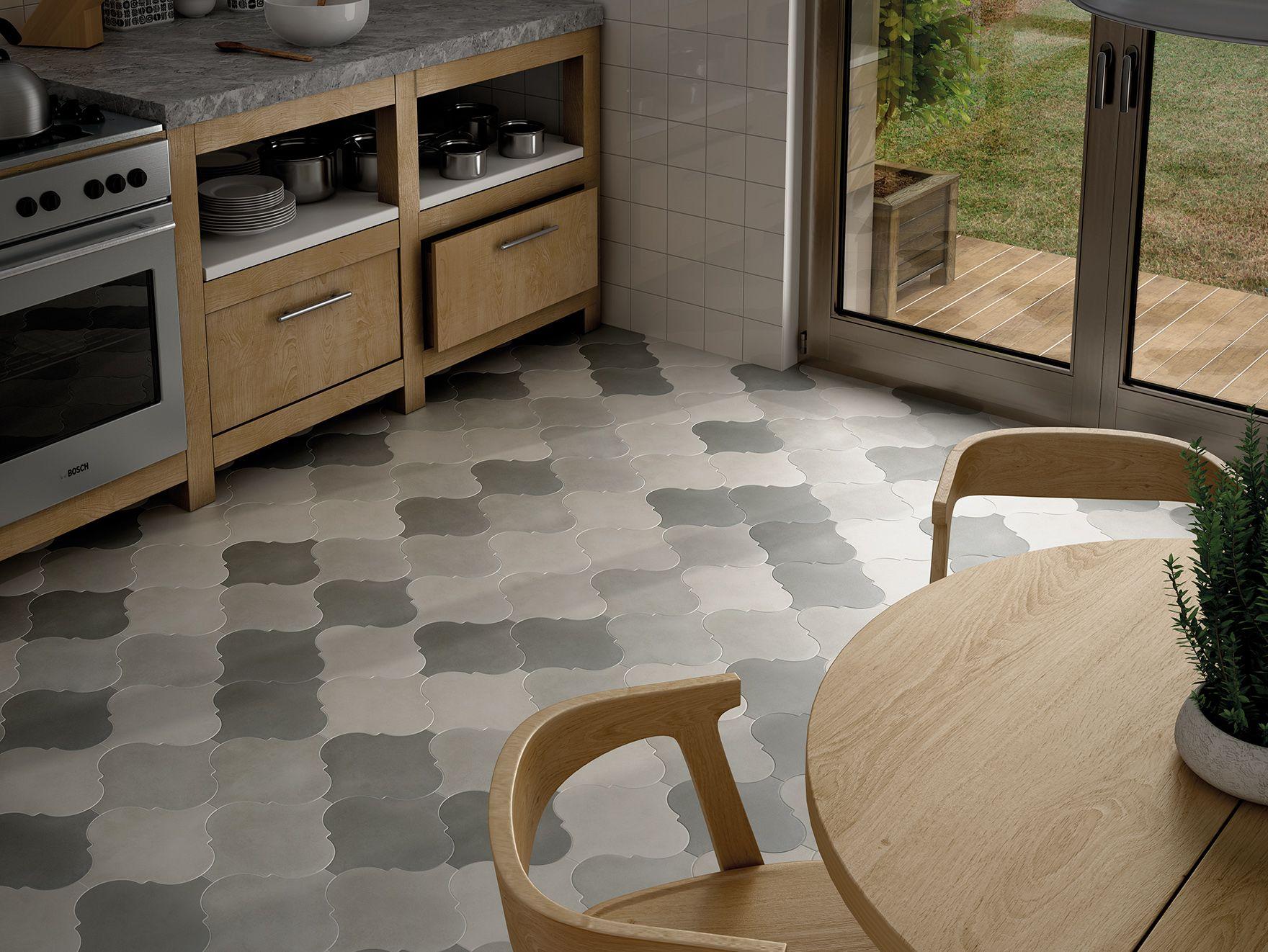 Floor Tile For Kitchen Curvytile Factory White Grey Black Naises Astley Pinterest