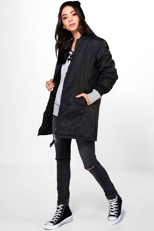 Dt电子游戏官网 Dt电子游戏注册平台 Bomber Jacket Longline Bomber Jacket Jackets For Women [ 1500 x 1000 Pixel ]