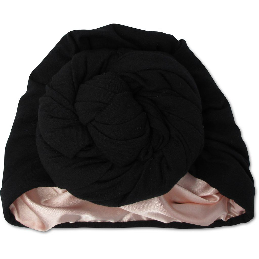 Noir - T-Shirt Bun Wrap