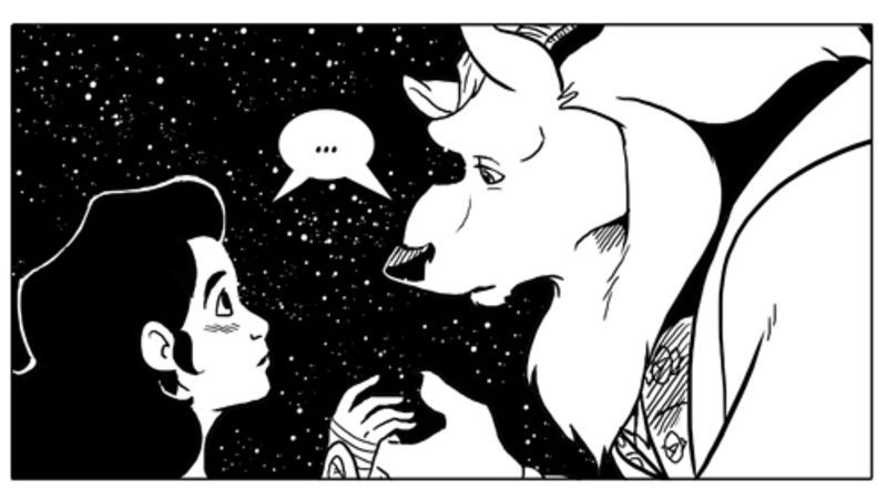 This Mysterious Webcomic Breathes Fresh Life into Beauty and the Beast