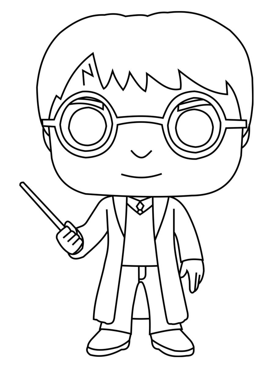 Coloriage Harry Potter Harry potter coloring book, Harry