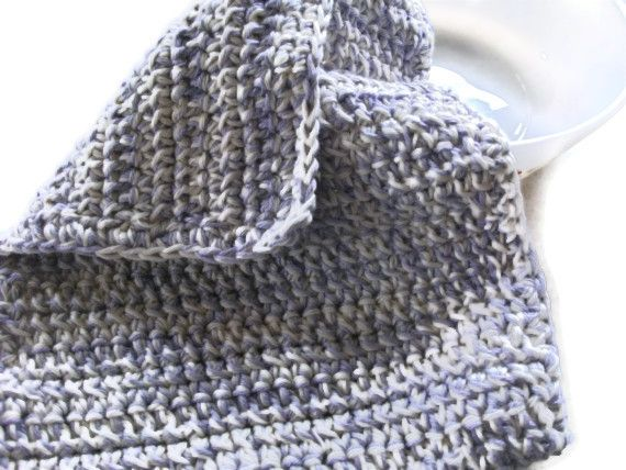 Oven Cloth in Lilac & Ecru. Cooking Baking, Kitchen Accessories, £8.00