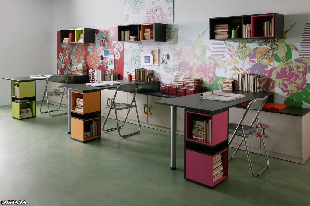 Cat logo aire avatar 23 estudio con tres mesas - Catalogo escritorios ...