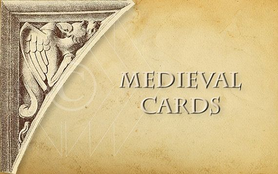 medieval time by Elena Doniy on Etsy