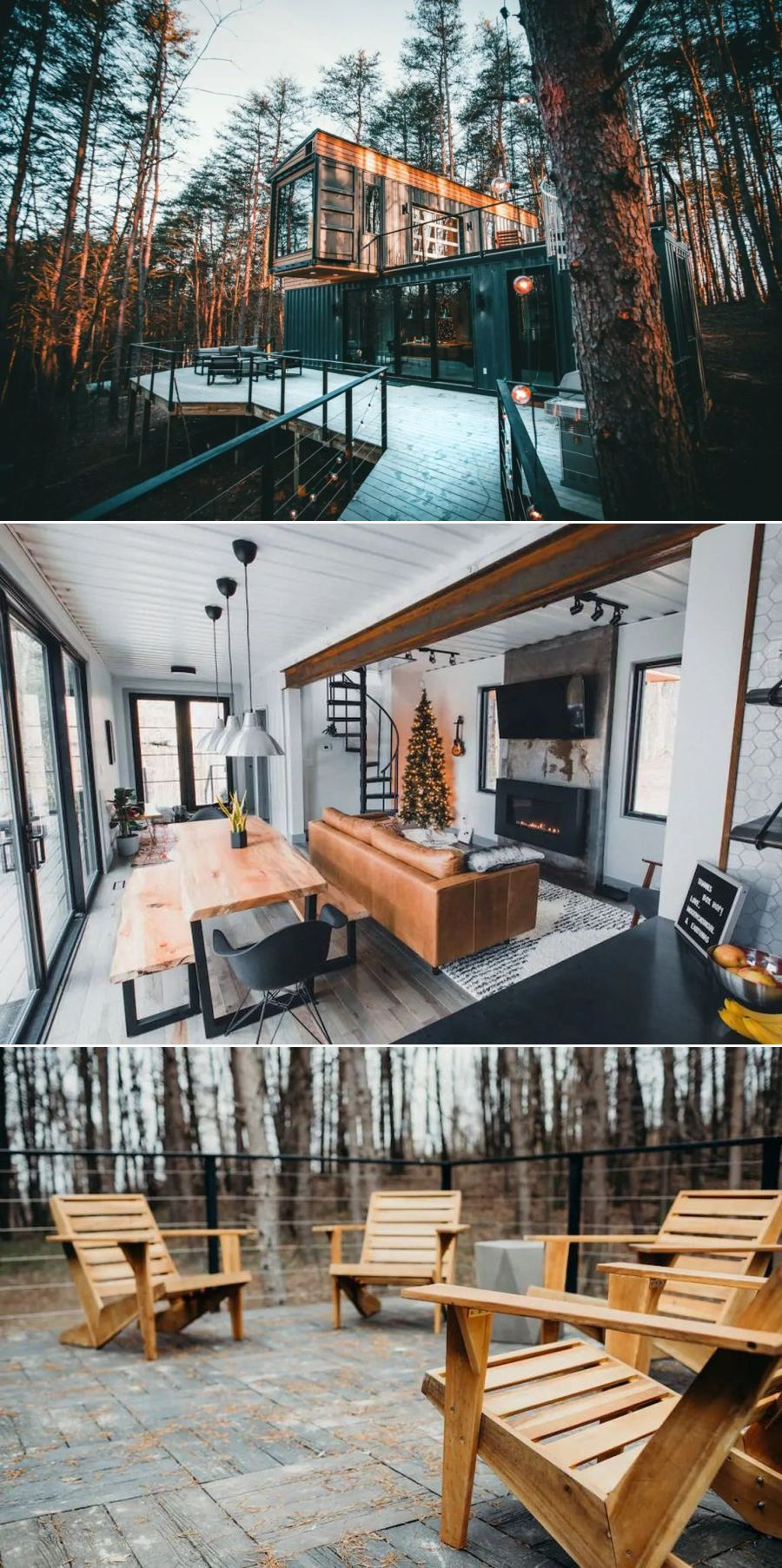 This Airbnb Vacation Rental in Ohio is Made of Three