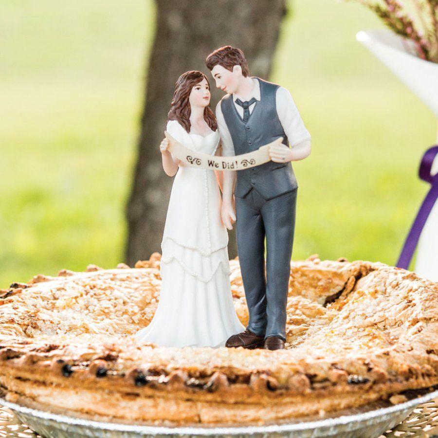10 Fun & Cute Wedding Cake Toppers Toronto Ontario Vintage Wedding ...