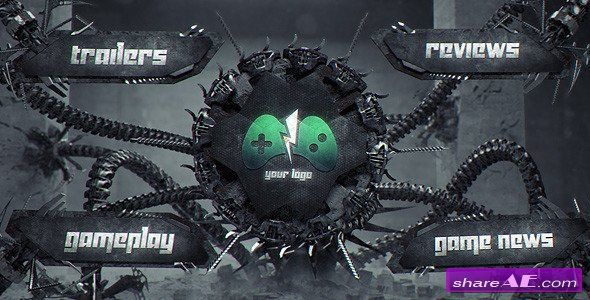 Hi-Tech Monster 3 - After Effects Project (Videohive