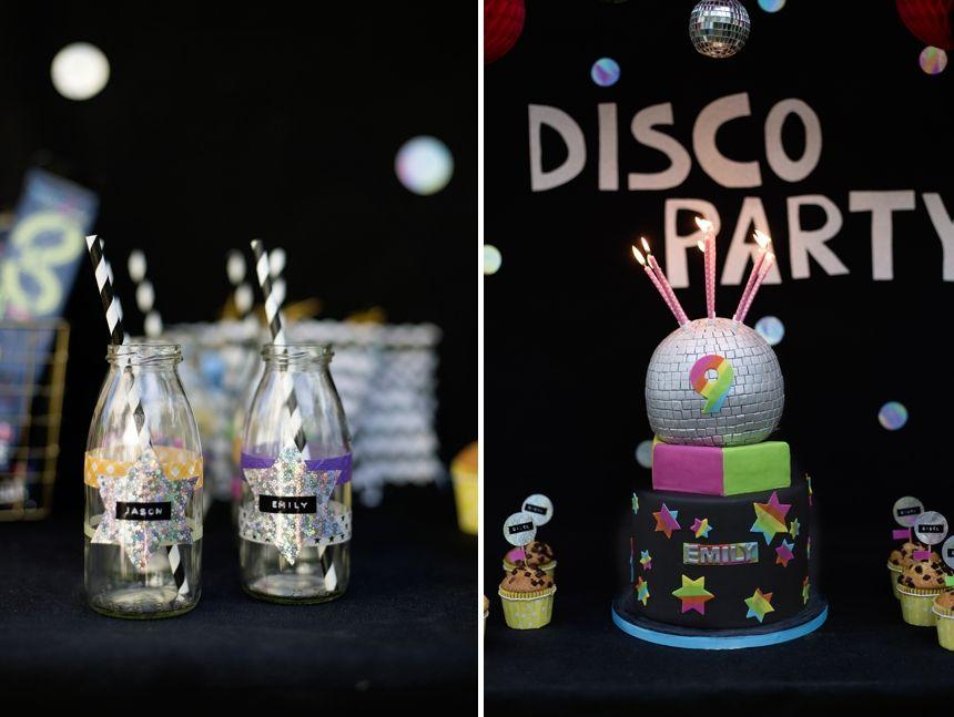 Eine Echt Coole Disco Geburtstagsparty I Kuchen Kinder Party