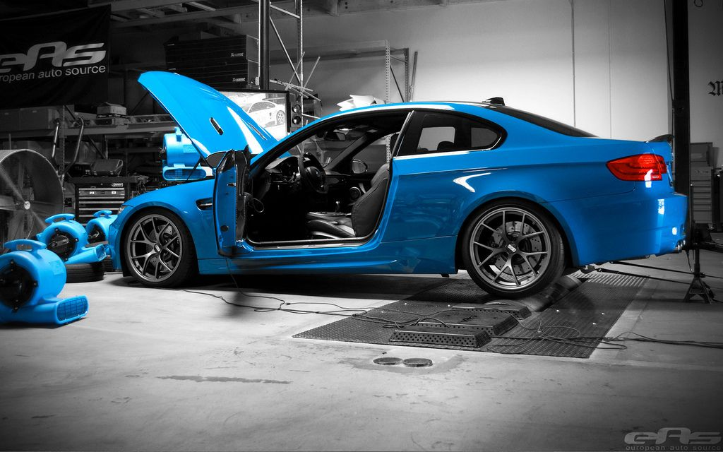 Laguna Seca Blue E92 M3 Dyno Eas By European Auto Source