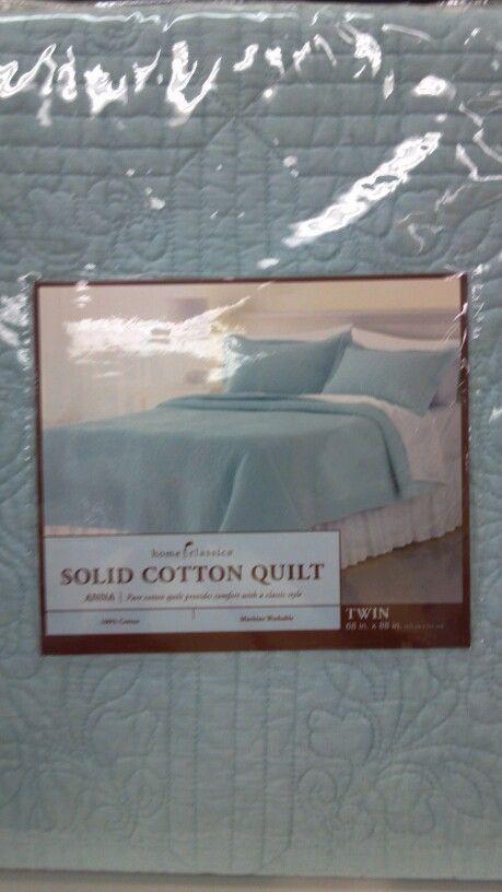 Quilt for Desi's bed in dorm