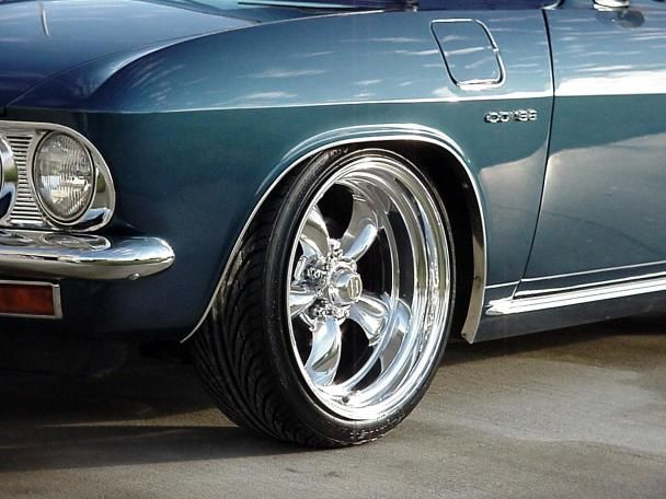 4 16x7 Torq Thrust 2 S Chevy Ford Mopar American Racing 515
