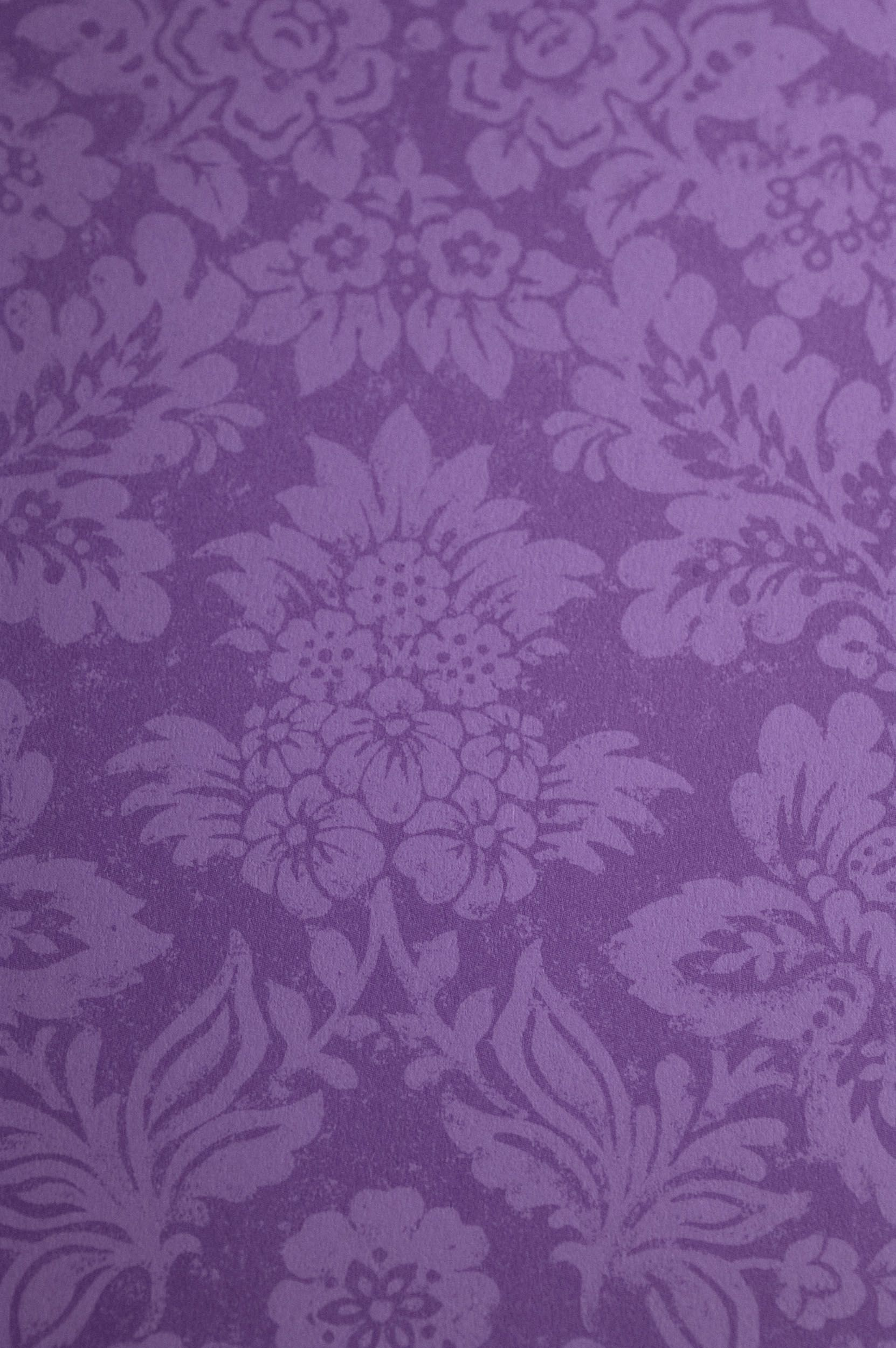 Purple Wallpaper Victorian Gothic Home Room