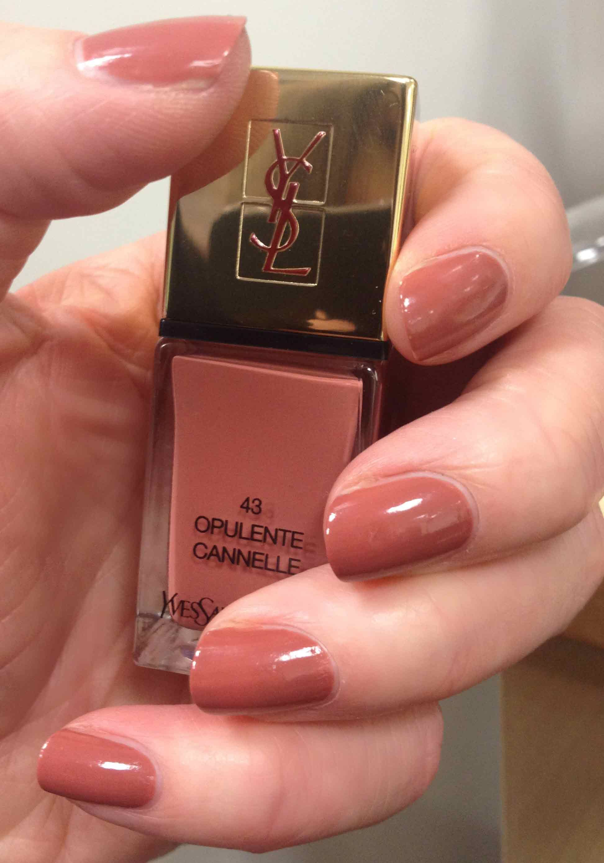 Very nice colour from YSL. Never owned YSL nail colour. Want YSL ...