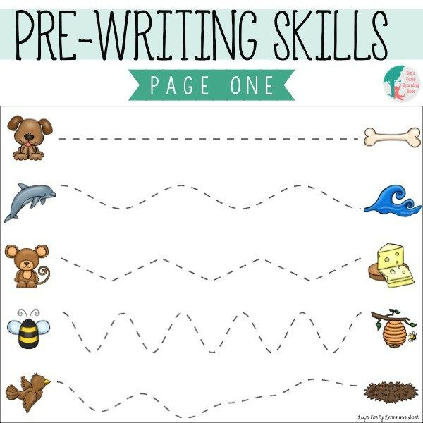 Essential Pre-Writing Skills: I Can Trace Lines - Liz's Early Learning Spot  Pre Writing Activities, Writing Activities For Preschoolers, Preschool  Writing