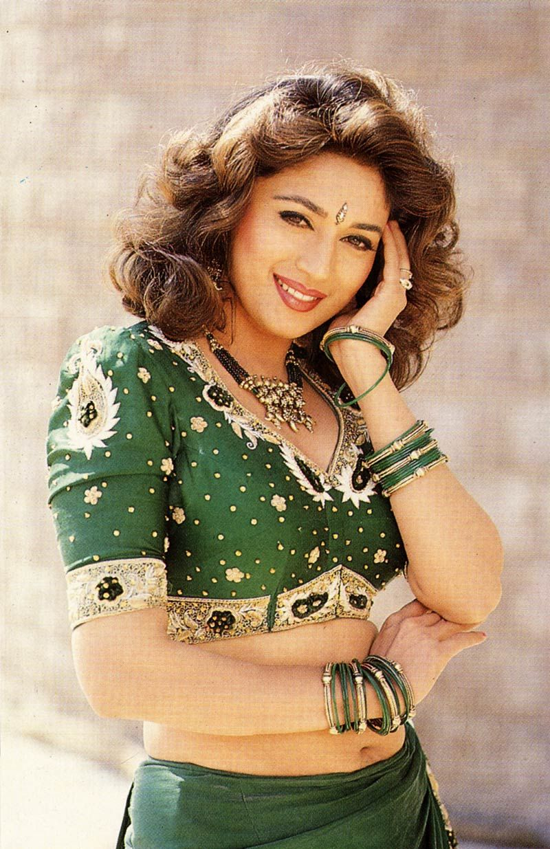Gorgeous Madhuri Dixit Dancing Queen  Actresses Dancing -6814