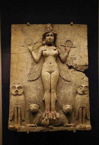 Babylon The Queen Of The Night Babylon Art Ancient World History Ishtar Goddess