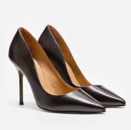 Czolenka Damskie Brazowe 42752 01 26 Z Kolekcji 2019 2020 Sklep Internetowy Kazar Heels Shoes Pumps