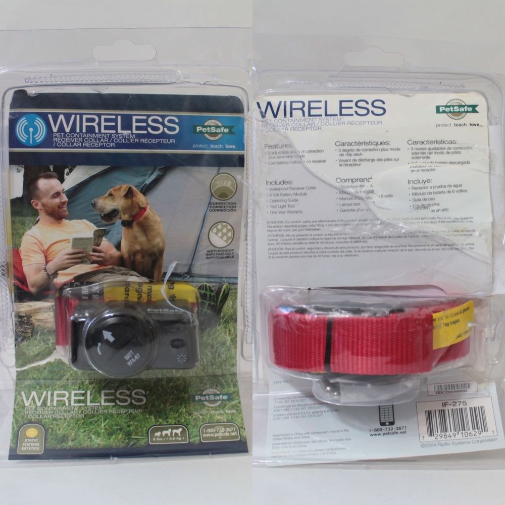 Petsafe If 275 Wireless Pet Containment System Receiver Collar