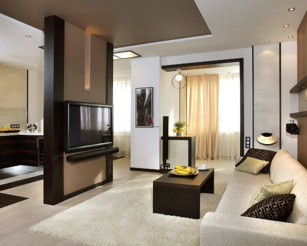 5 Ideas Of Zoning Kitchen And Living Room Living Room Partition Bedroom Furniture Design Living Room Designs