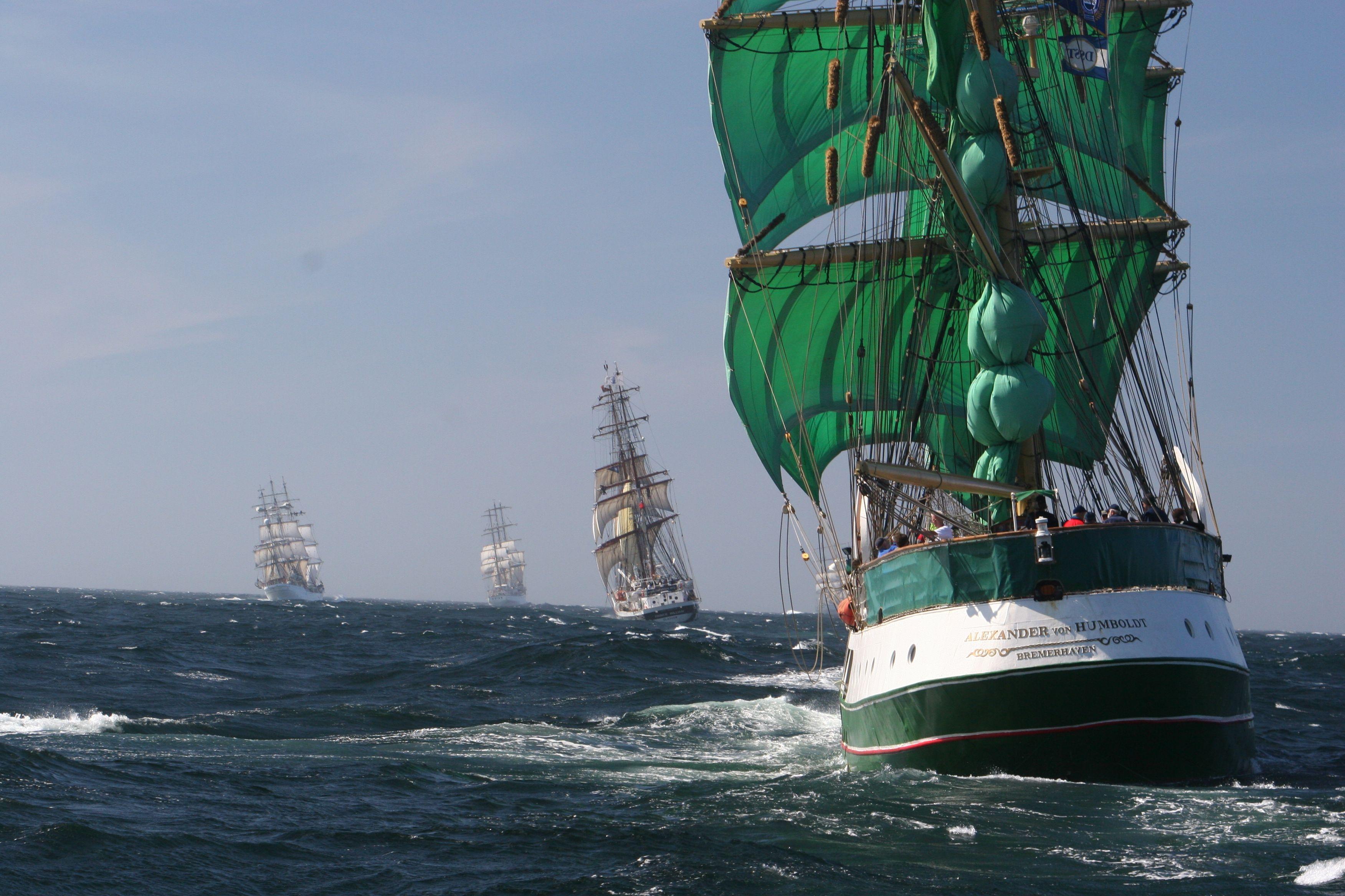 Csg 005 Alexander Von Humbolt Tall Ships Race Tall Ships Sailing