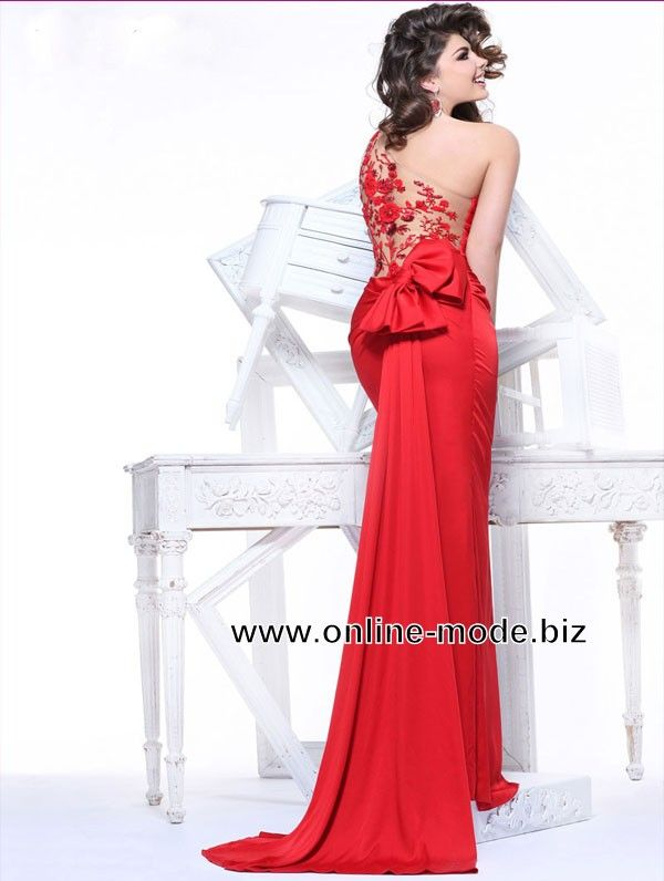 Festliches Abendkleid Online in Rot | Abendkleid | Pinterest