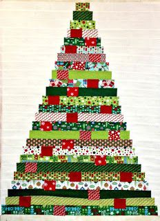 Image result for christmas tree quilt pattern #jellyrollquilts