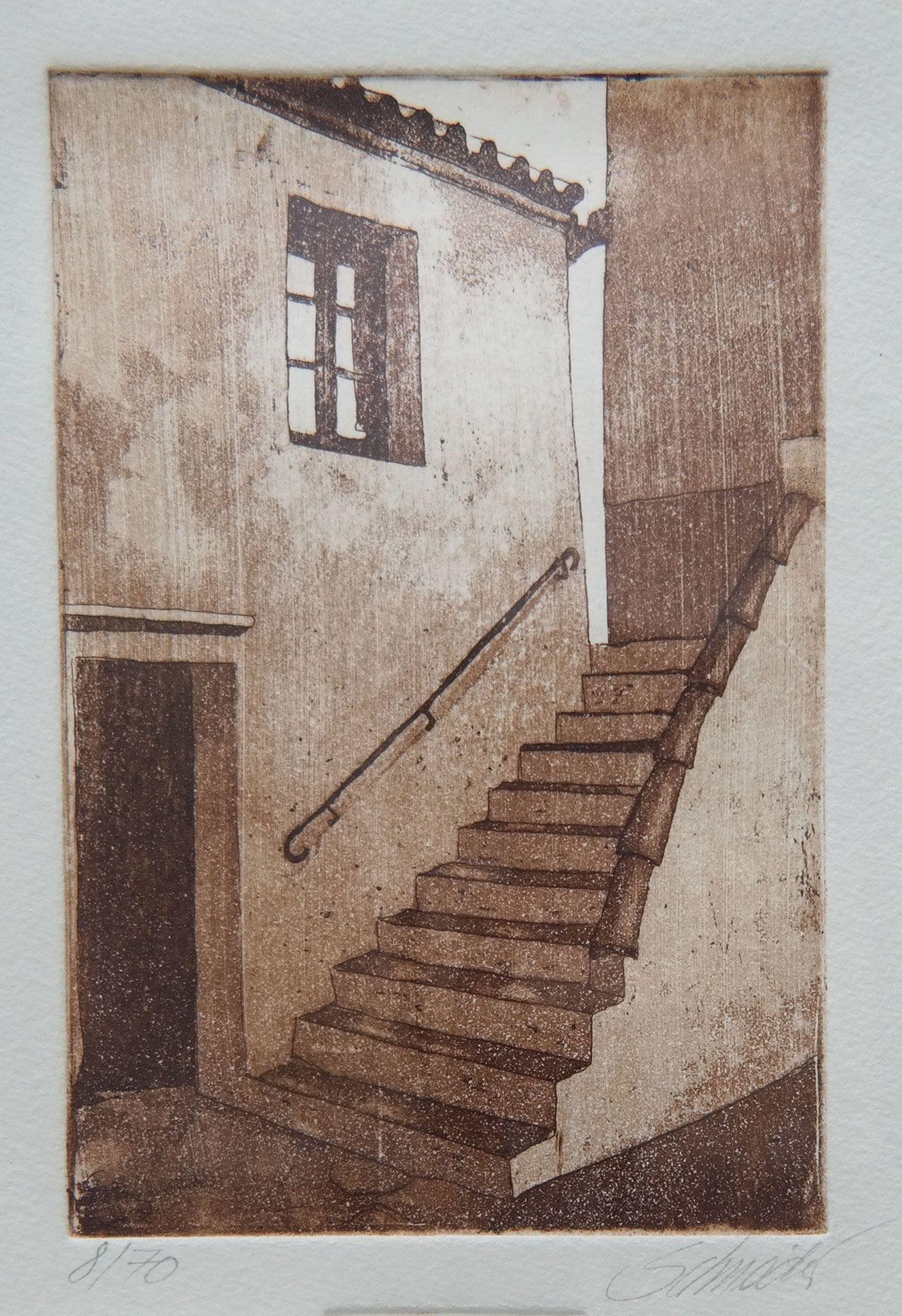 kleine treppe | radierungen | pinterest