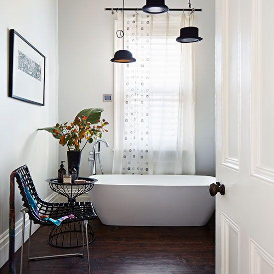 Looking Good Bath Mat. Dark Floor BathroomBathroom ...