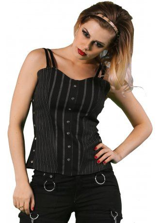Women/'s Devil Tail Hooded Tunic Top Kreepsville Gothic Horror Fashion