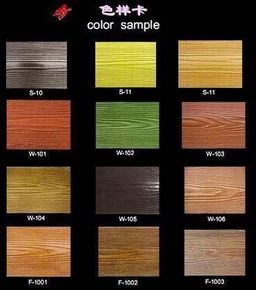 Colors Anr Texture For Cement Siding Fiber