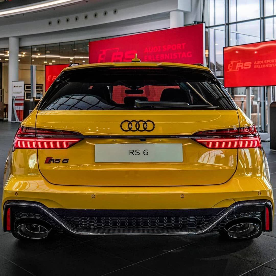 Welcome To Audi Quattro Gang On Instagram The Vegas Yellow New Audi Rs6 Avant 2020 With The Optic Package Carbon Audi Rs6 Audi Rs6 Wagon Audi Rs6 Black