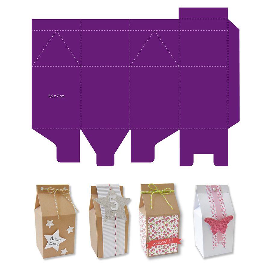 matrice de d coupe bo te lait pinteres. Black Bedroom Furniture Sets. Home Design Ideas