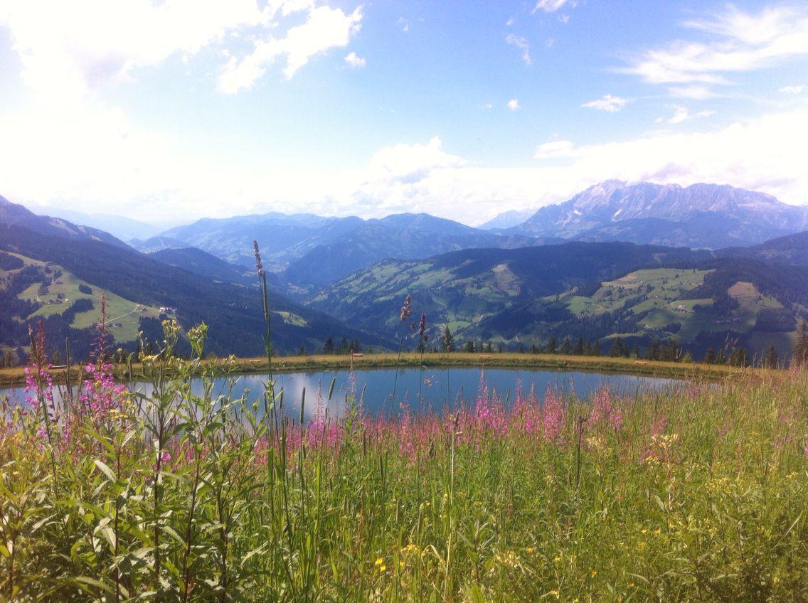 Österreich 2015 See in den Bergen
