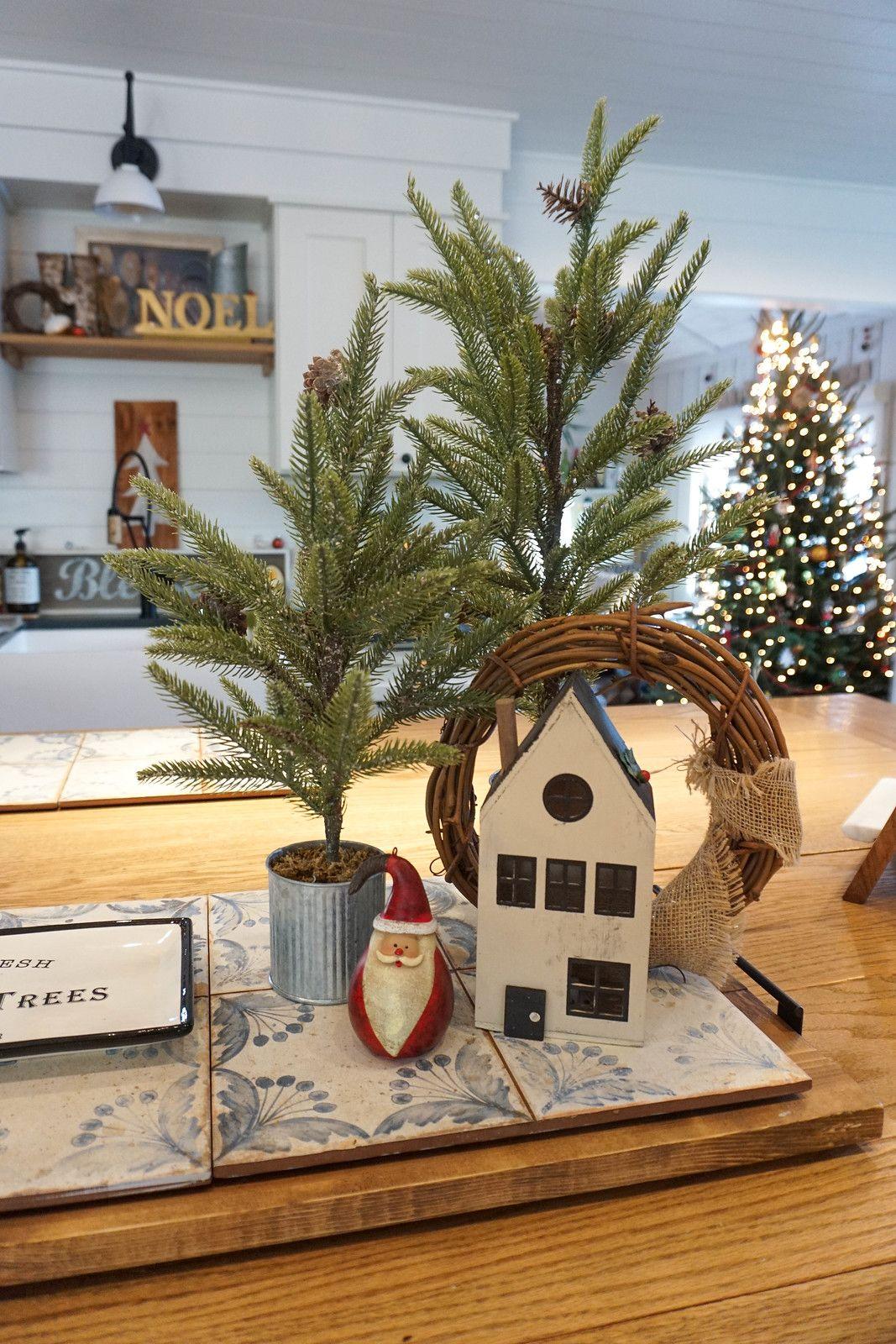 Modern Farmhouse Christmas Decor Inspiration Living After Midnite Boho