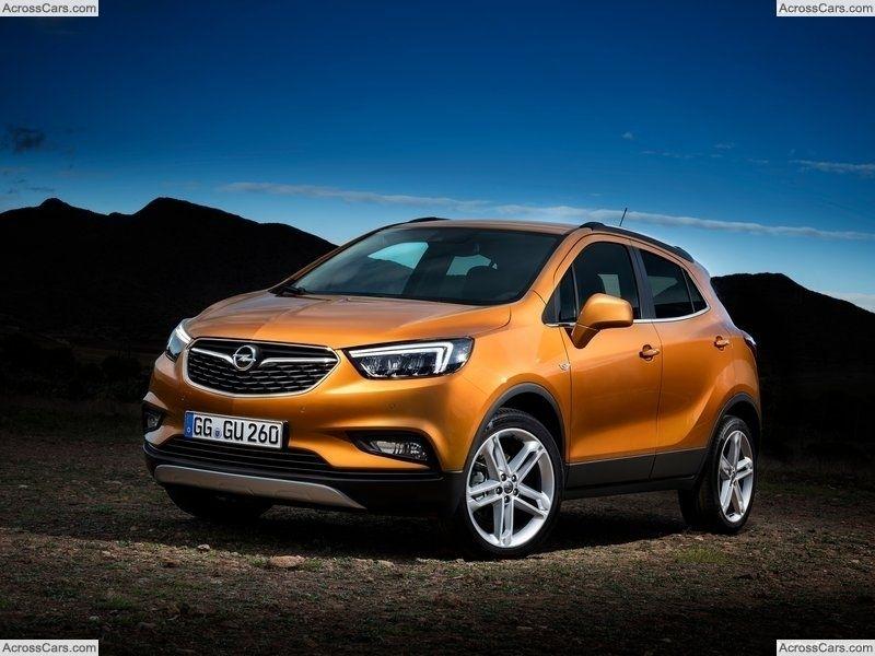 Opel Mokka X 2017 Opel Mokka Vauxhall Mokka Opel