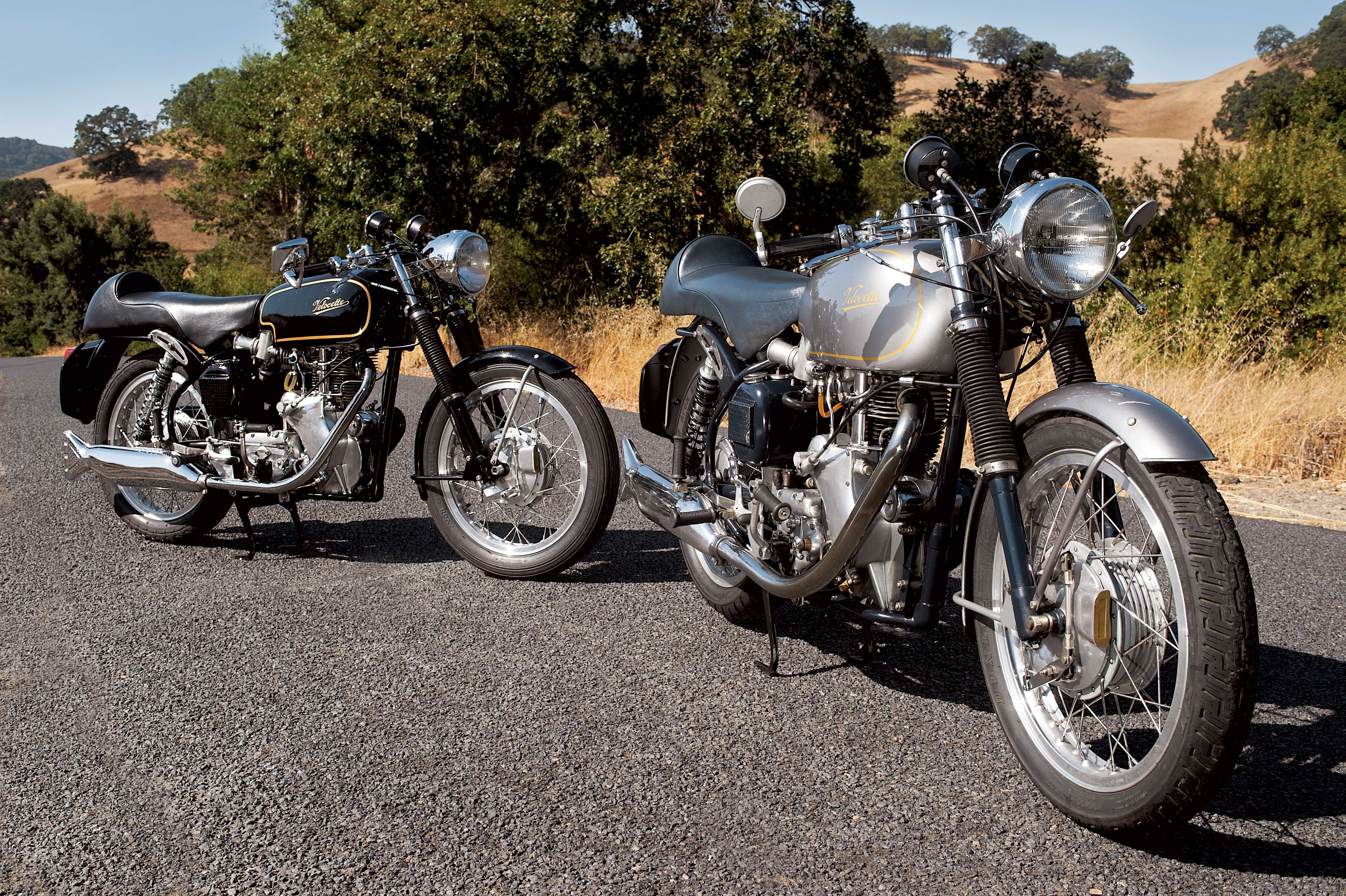 Velocette Thruxton A Tale Of Two Fishtails Classic British