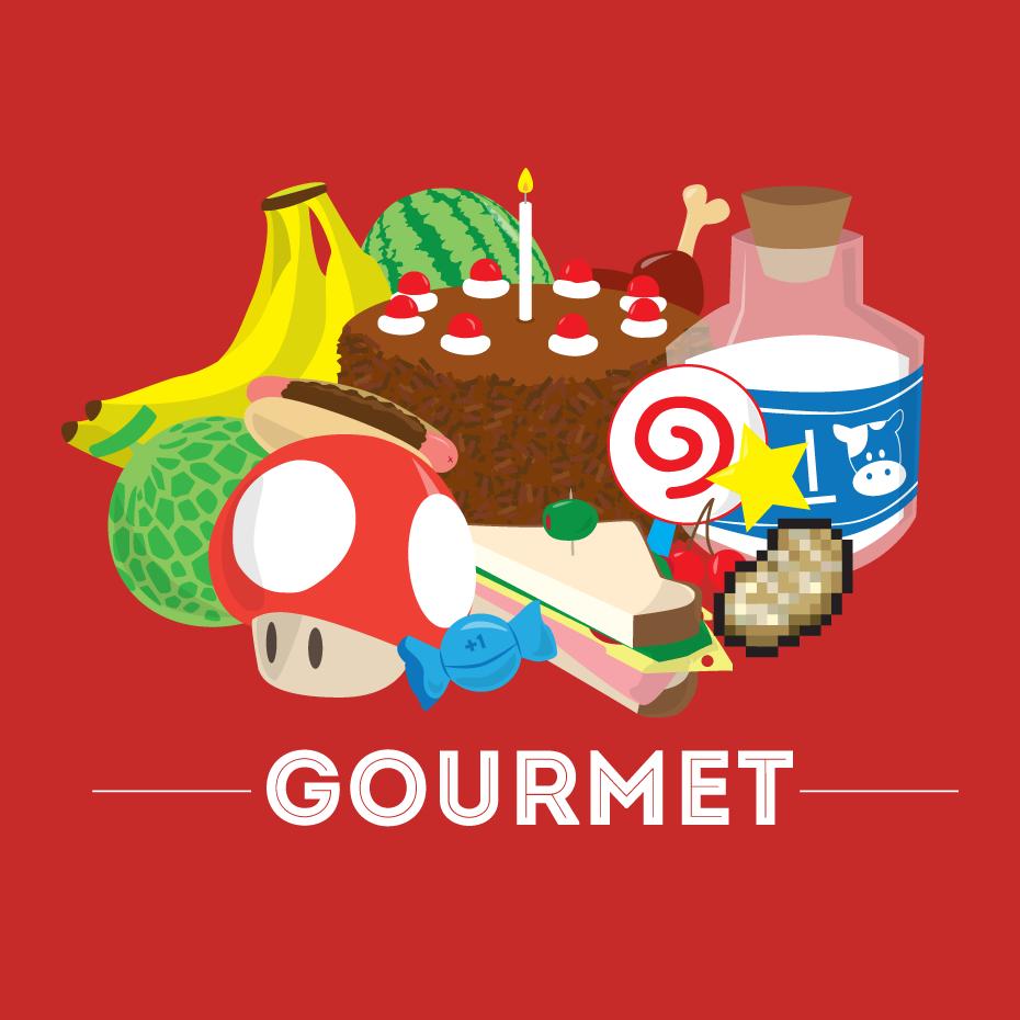 Shirt design reddit - Gourmet Game Food Via Reddit User Thecuraga