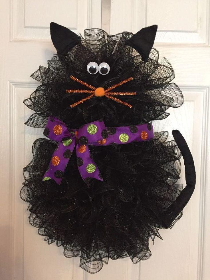 Found on Bing from www.pinterest.com #halloweenwreaths