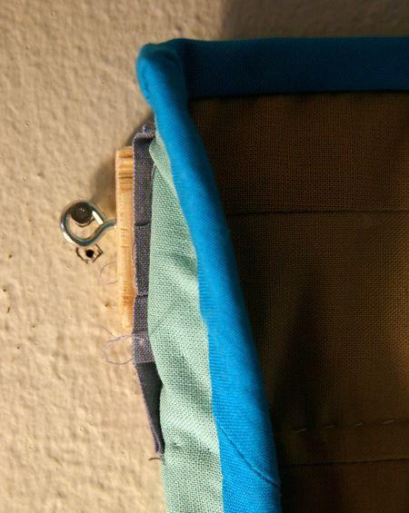 Como pendurar um Tutorial Quilt, passo 9