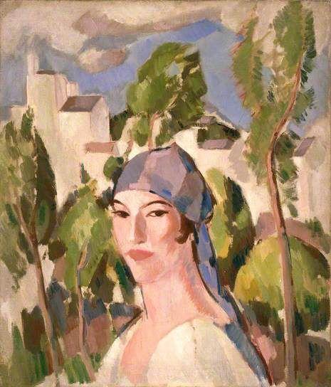 At Dinard (Margaret Morris, 1891–1980) John Duncan Fergusson, 1930-1931