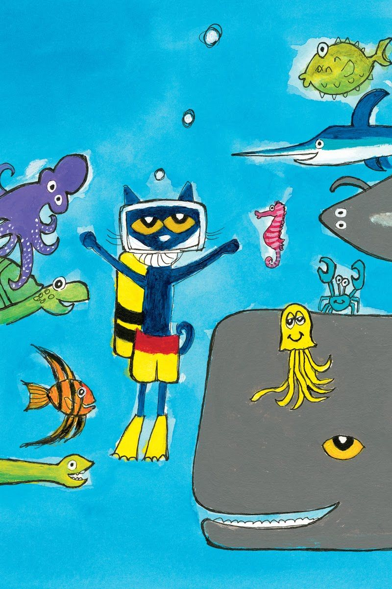 Pete The Cat Scuba Cat Pete The Cat Pete The Cats Classroom