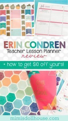 The Erin Condren Teacher Lesson Planner for an Organized School Year! Beautiful  Functional Teacher Planner you cant live without! Want to get organiz... - #beautiful #condren #lesson #organized #planner #school #teacher - #new #teacherplannerfree The Erin Condren Teacher Lesson Planner for an Organized School Year! Beautiful  Functional Teacher Planner you cant live without! Want to get organiz... - #beautiful #condren #lesson #organized #planner #school #teacher - #new #teacherplannerfree