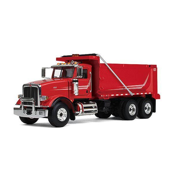 Peterbilt 367 Dump Truck / Red First Gear